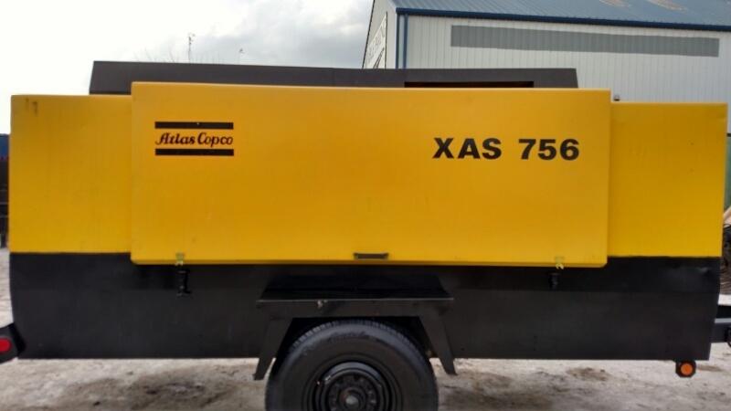 Atlas Copco XAS756