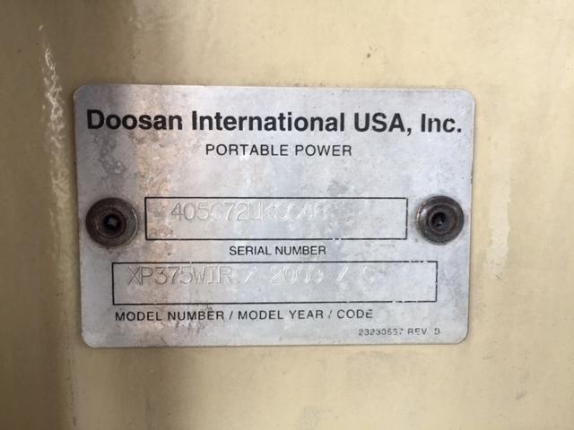 Doosan/Ingersoll Rand XP375WIR