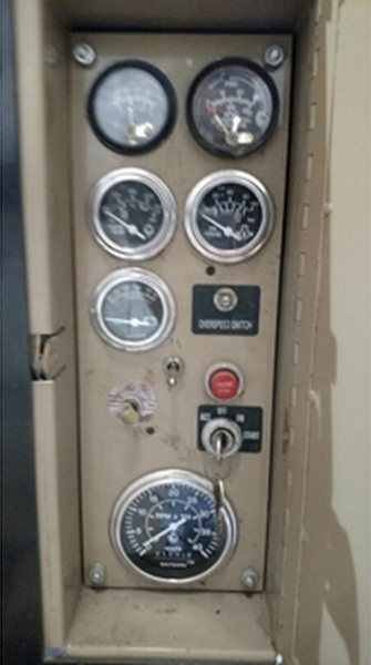 Used CUMMINS GTA 8.3 Gas Engine