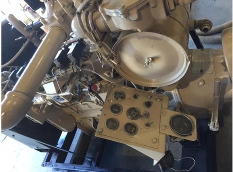 Used CUMMINS GTA8.3 Gas Engine