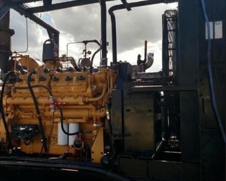 Used CATERPILLAR G3412TA Gas Engine