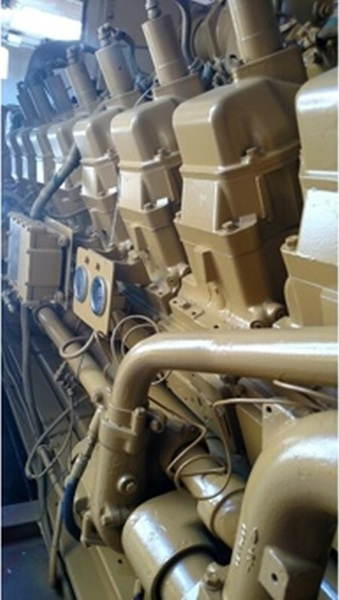 Used CATERPILLAR G3516 Gas Engine