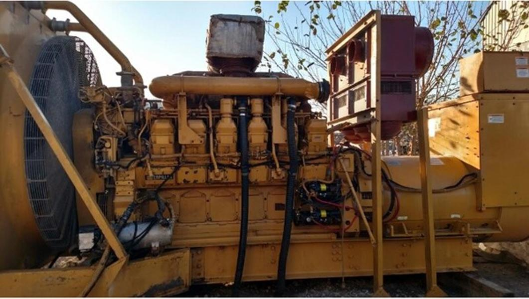 CATERPILLAR 3512B Diesel Engine