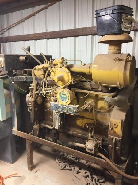 Caterpillar G3306NA Gas Engine