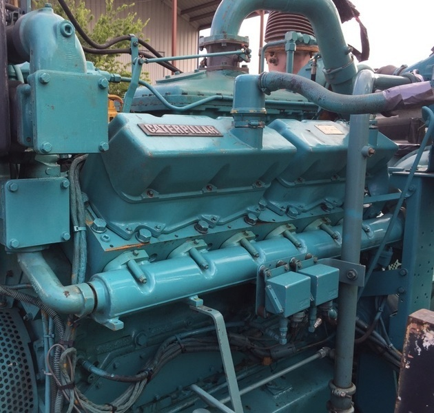 Caterpillar G3412 TA Gas Engine
