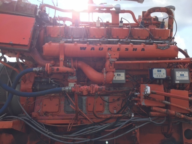 Waukesha 5794T Gas Engine
