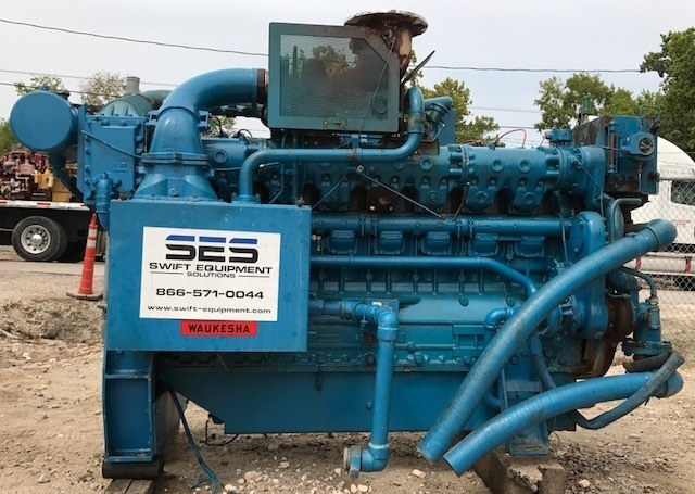 Waukesha H24GLD Gas Engine