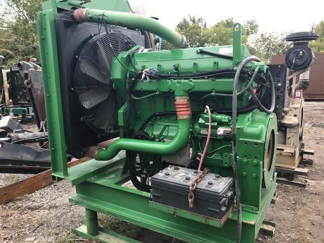 John Deere 6125 HF Diesel Engine