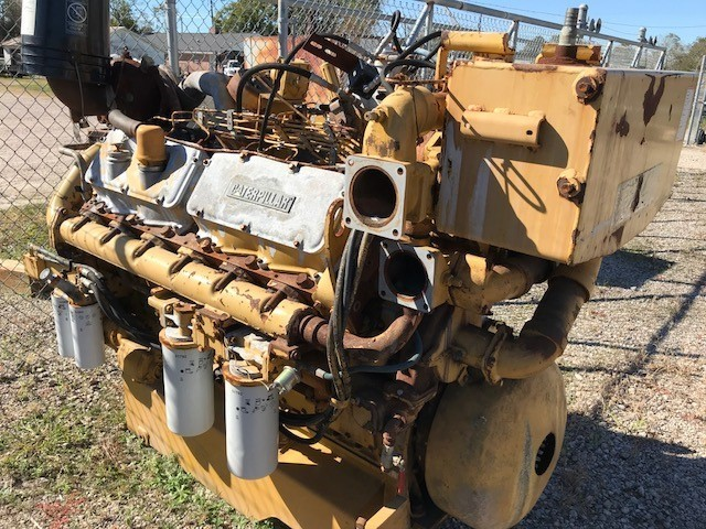 Caterpillar 3412B Diesel Engine