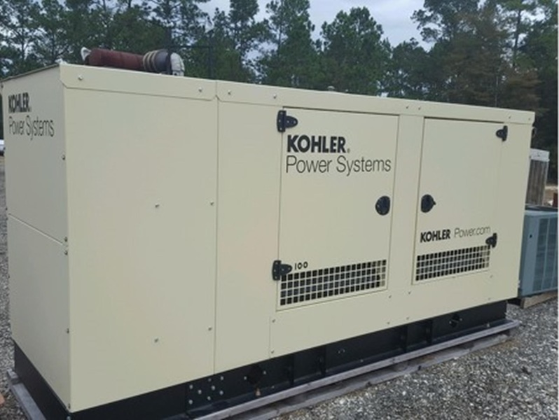 New KOHLER 100KW Natural Gas Generator