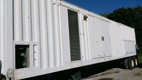 Used JENBACHER 1000 KW Natural Gas Generator