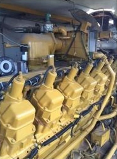 Used CATERPILLAR 820KW Natural Gas Generator