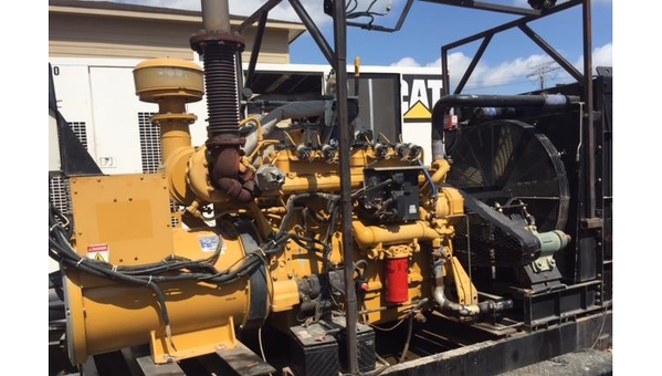 Used CATERPILLAR 200KW Natural Gas Generator