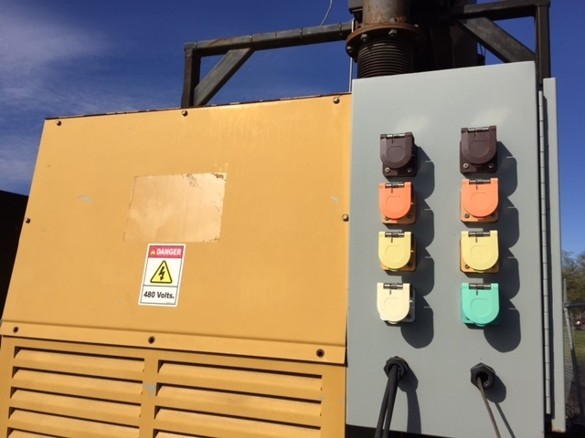 Used CATERPILLAR 400KW Natural Gas Generator