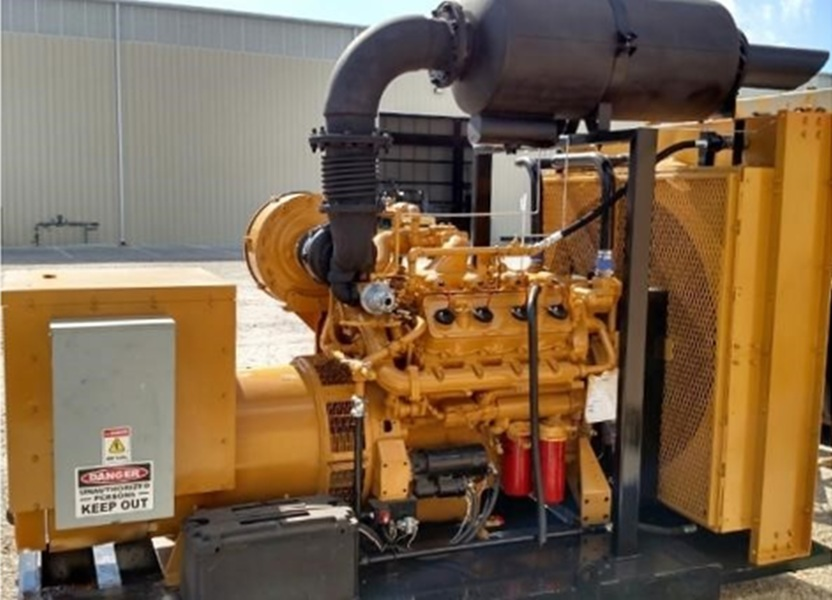 Used CATERPILLAR G3408TA Natural Gas Generator