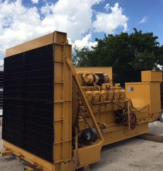 Overhauled CATERPILLAR 1500KW Diesel Generator