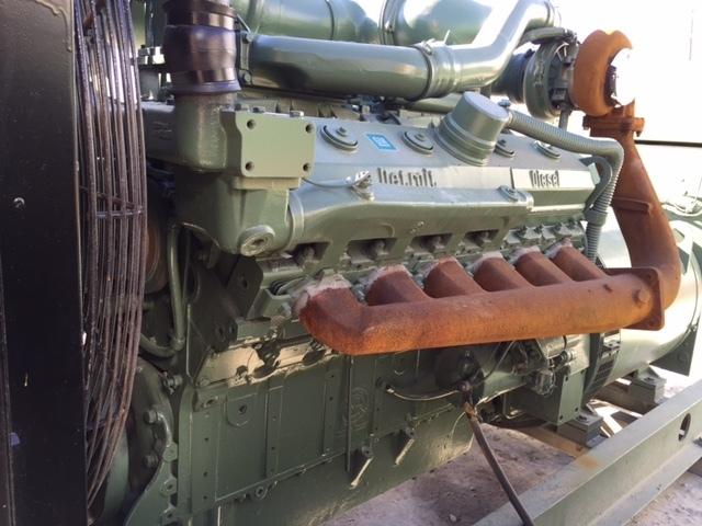 Stewart & Stevenson 365KW Diesel Generator