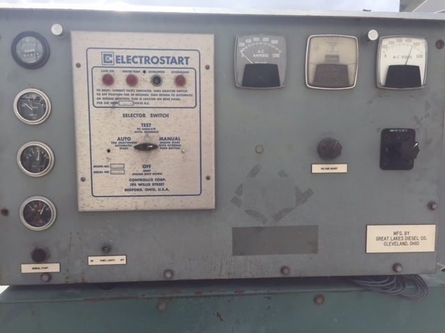 Stewart & Stevenson 400KW DIESEL Diesel Generator