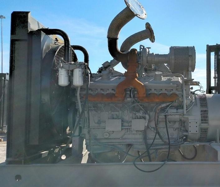 DDEC 500KW Diesel Generator
