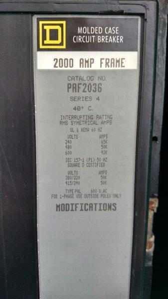 Cummins 1250KW Diesel Generator