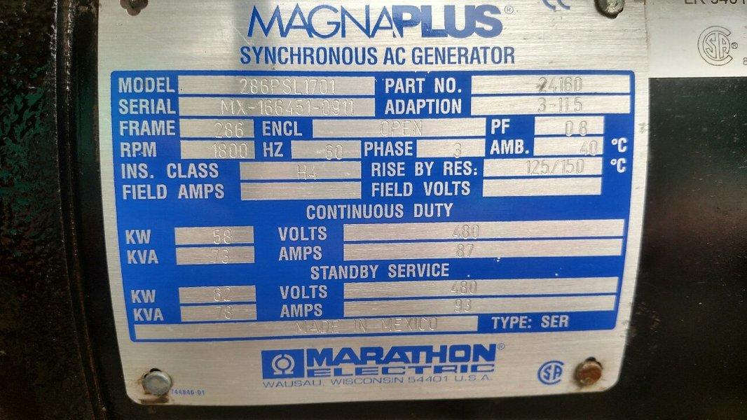Magnum MMG55 Diesel Generator