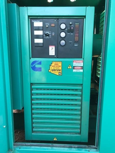Cummins 500KW Natural Gas Generator