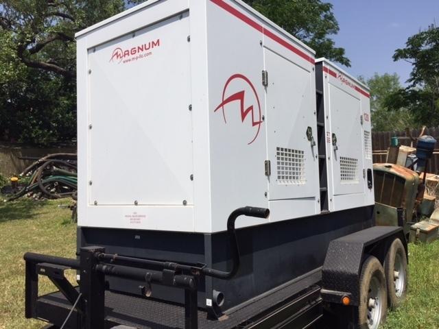 Magnum 100KW Diesel Generator