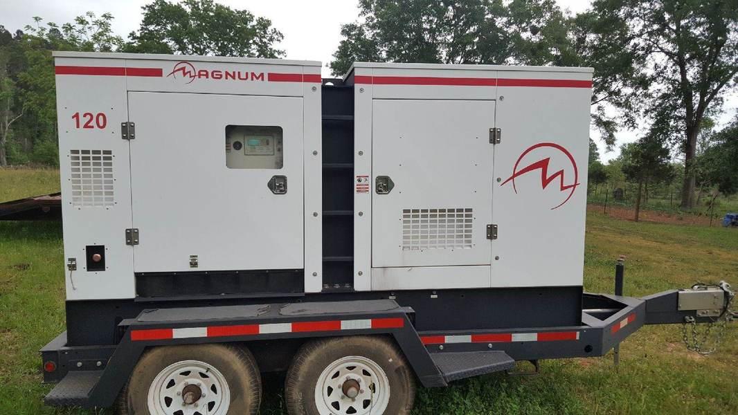 Magnum MMG125 PORTABLE RENTAL GENERATOR Diesel Generator