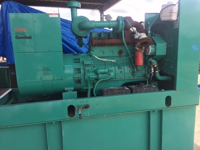 Cummins Onan 80KW Diesel Generator