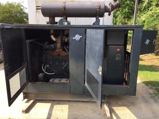 Stewart & Stevenson 100KW Diesel Generator
