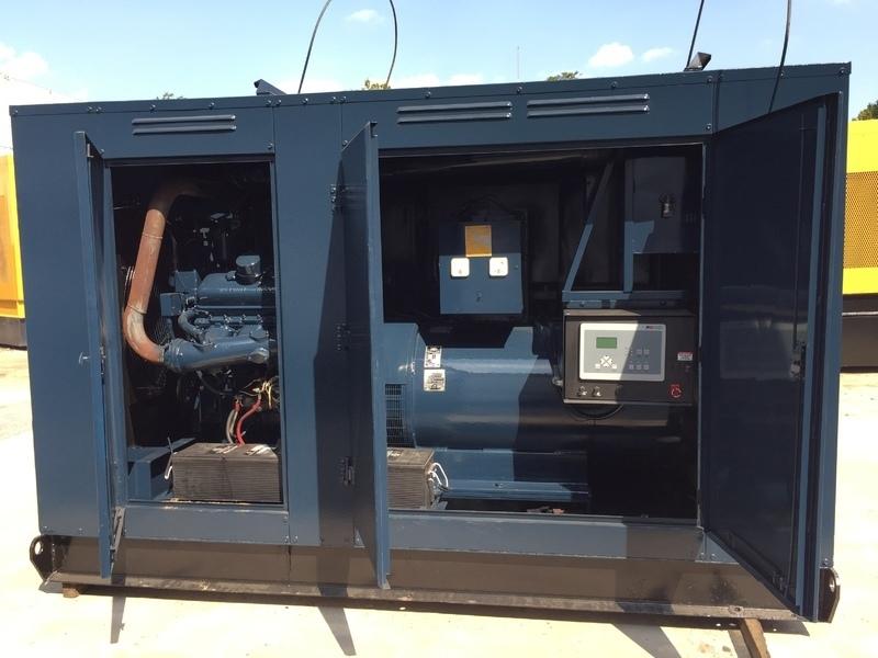 Stewart & Stevenson 175KW Diesel Generator