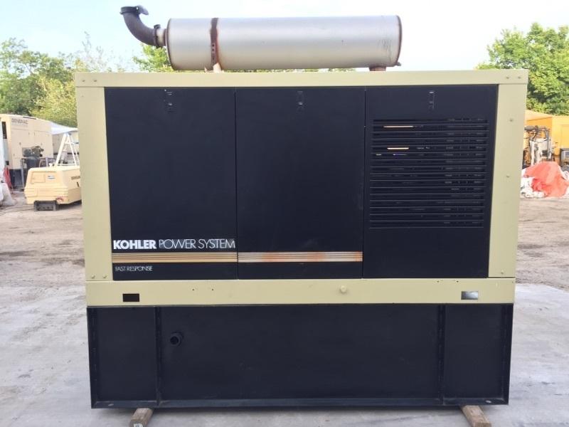 Kohler 100KW Diesel Generator