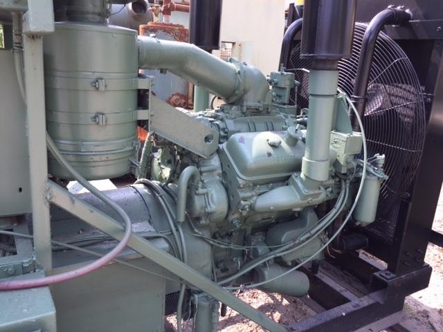 Stewart and Stevenson 125KW Diesel Generator