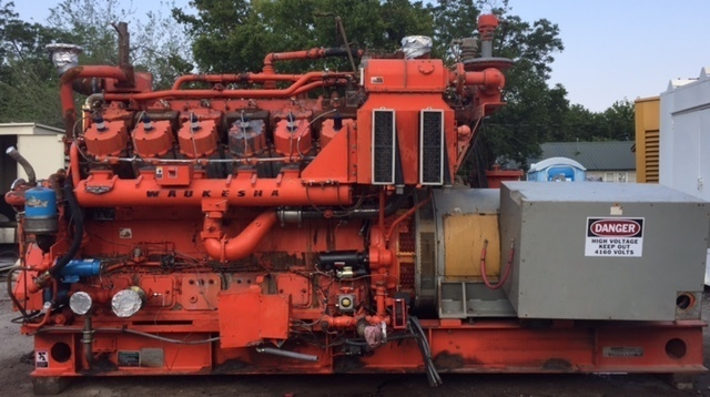 WAUKESHA 5794T Natural Gas Generator