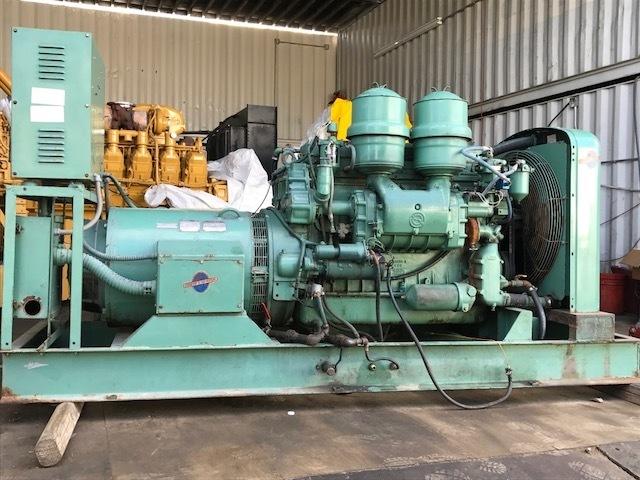 Stewart & Stevenson 125KW Diesel Generator