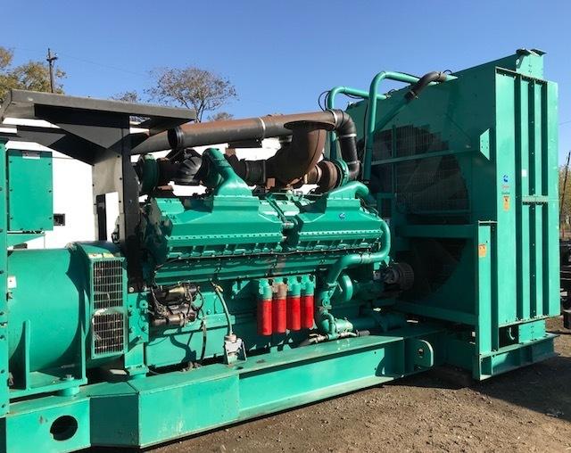 CUMMINS 2000KW Diesel Generator