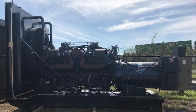 Stewart & Stevenson 1400KW Diesel Generator