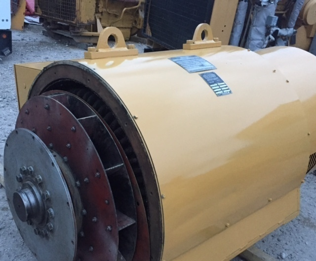 Used Kato Engineering A164370000 4P6-1350 Generator End