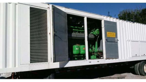 Used JENBACHER 1000 KW Natural Gas Generator