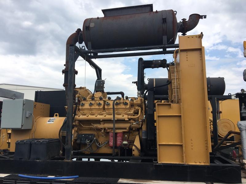 Used CATERPILLAR 400KW Natural Gas Generator
