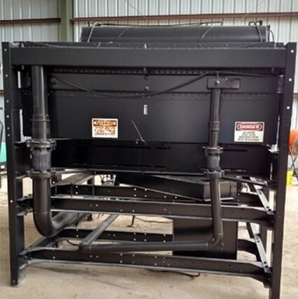 Used YOUNG 800KW NAT GAS CAT Radiator
