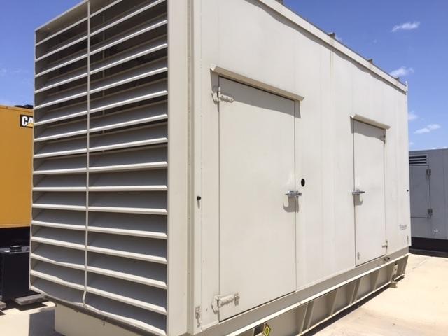 ACS MANUFACTURING GENERATOR ENCLOSURE WITH 800GALLON BASE TANK Enclosures