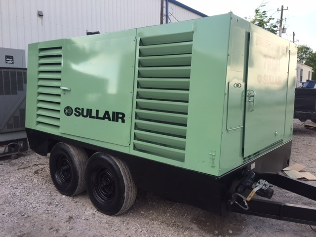 Used Sullair 750CFM Air Compressor For Sale