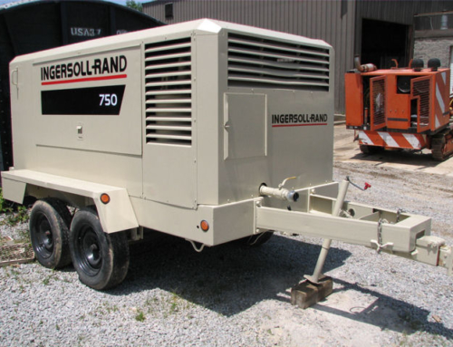 Guidance Step for Using Ingersoll Rand 750 Air Compressor